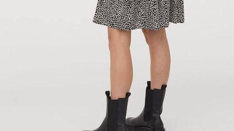 Si buscas unos botines Chelsea para llevar con tus vestidos, apuesta por estos de H&M