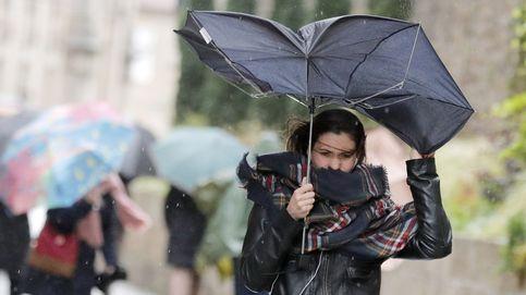 Más de 40 provincias activan las alertas por fuertes vientos con el paso de la borrasca Elsa