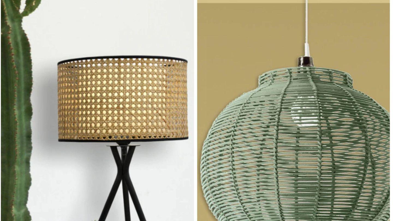 Lámparas de Leroy Merlin. (Cortesía)