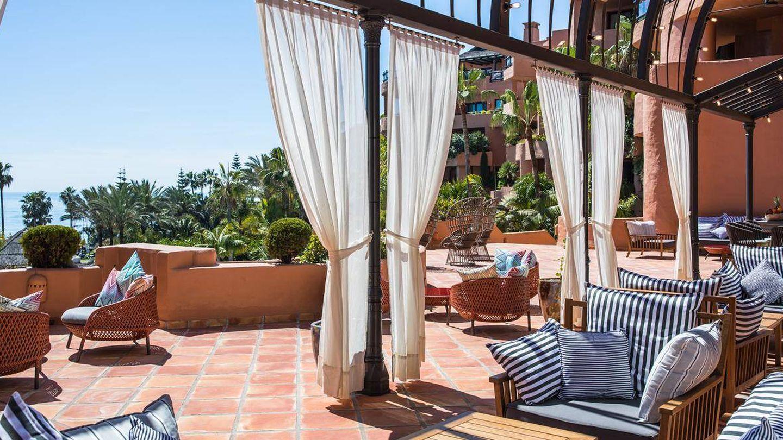 Un rinconcito del Kempinski Hotel Bahía con vistas al mar. (Foto: Cortesía)