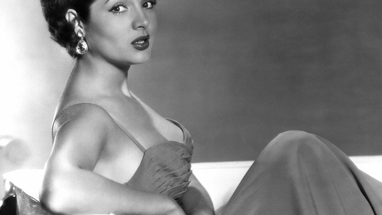 Sara Montiel en 1956, en pleno éxito hollywoodiense. (Cordon Press)