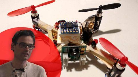 Este ingeniero zaragozano ha creado un dron casero prácticamente indetectable
