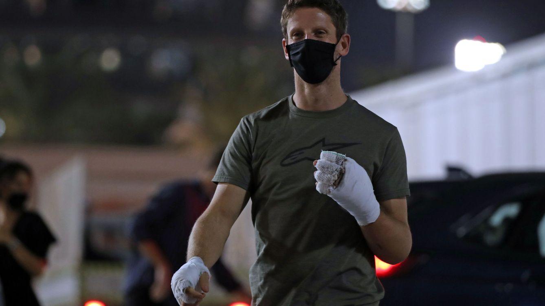Realmente vi llegar a la muerte: el espeluznante testimonio de Romain Grosjean