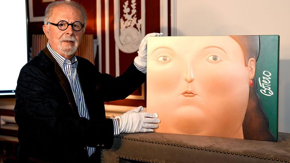 Foto: El pintor y escultor presenta su libro 'Las mujeres de Botero' (EFE)