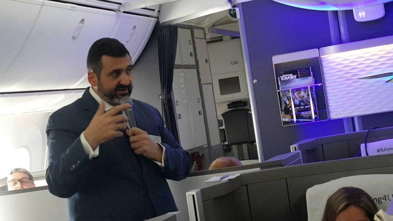 El bilbaíno Álex Cruz fue culpado del desastre informático de British Airways.
