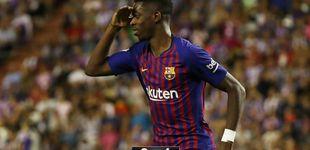 Post de Los fichajes del Barcelona solo le sirven a Valverde para espolear a Dembélé