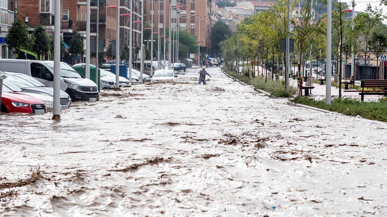 Foto: Vista del paseo de La Rosa, este miércoles, en Toledo. (EFE)