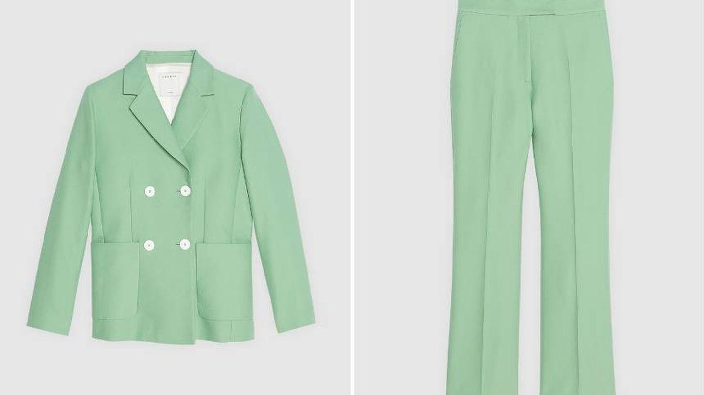 Traje de chaqueta de Sandro Paris. (Web de la firma)