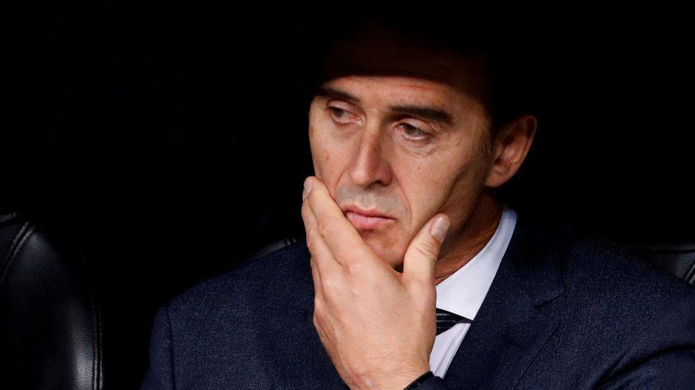 Foto: Julen Lopetegui, el último entrenador destituido del Real Madrid. (Reuters)