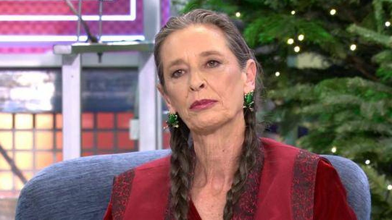Paola Dominguín. en 'Sábado Deluxe'. (Mediaset)