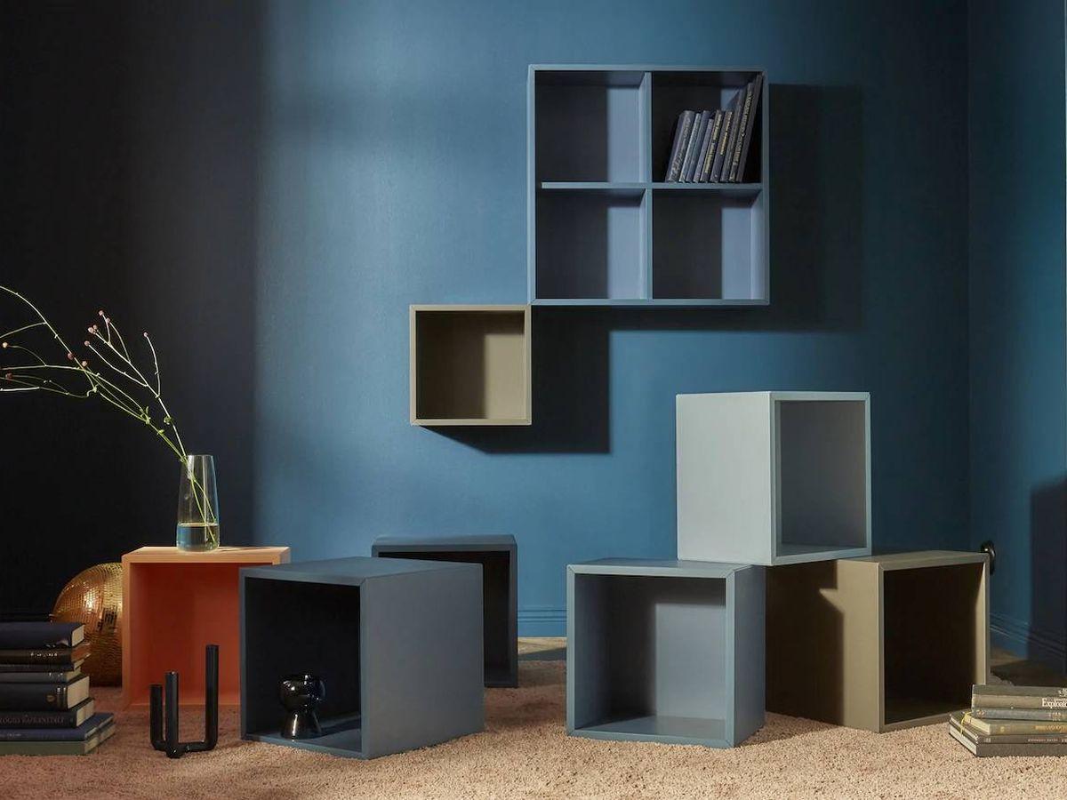 Foto: Estantería modular de Ikea. (Cortesía)