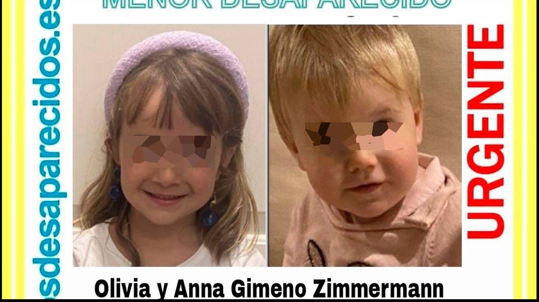 Foto: Olivia y Anna llevan desaparecidas desde el pasado mes de abril. (Guardia Civil)