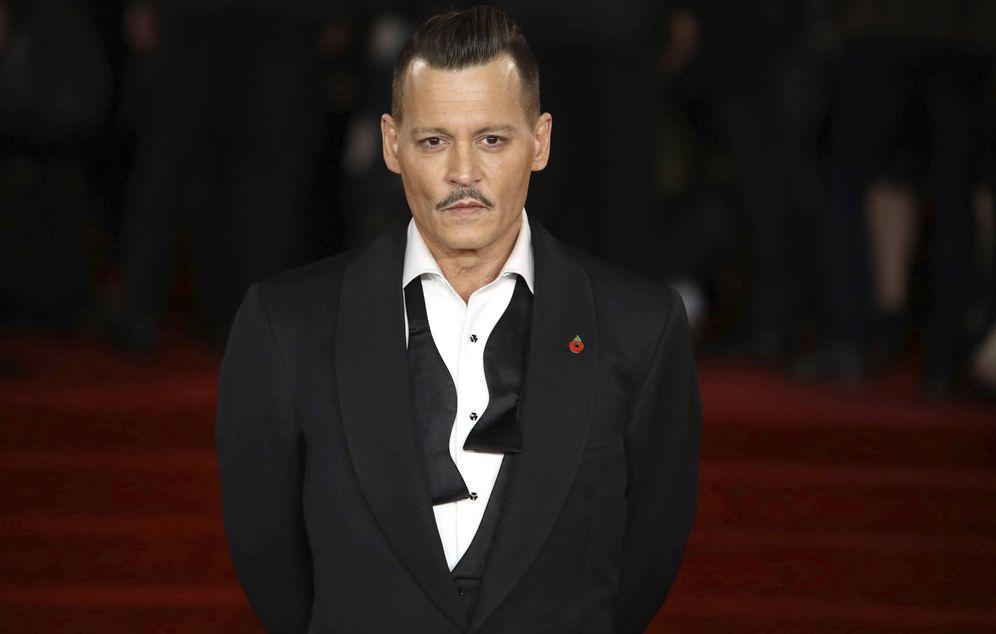 Foto: Johnny Depp en una imagen de archivo. (Gtres)