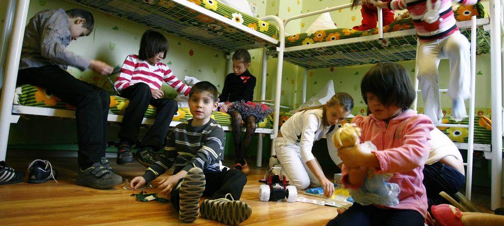 Foto: Niños de un orfanato de la ciudad rusa de Rostov-on-Don. (Reuters)
