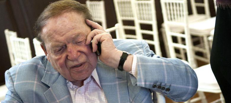 Foto: Sheldon Adelson, propietario de Las Vegas Sands