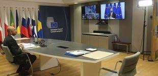 Post de ¿Regresa la diplomacia de Zoom? Se complica el cara a cara en las cumbres de la UE