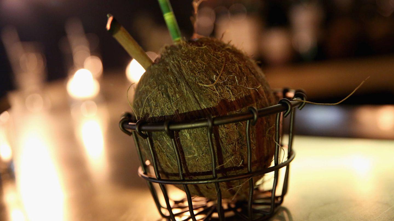 Cóctel de coco. (Getty)