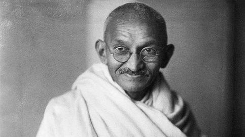 Roban las cenizas de Gandhi de su mausoleo en su 150 cumpleaños