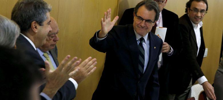 Foto: Artur Mas, Francesc Homs y Jordi Pujol