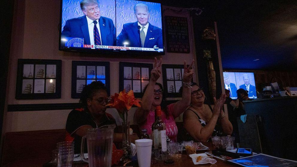 El primer debate entre Trump y Biden: pelea de barro y cocaína