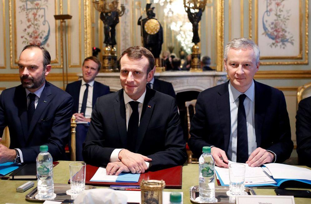 Foto: Macron, presidente de Francia.