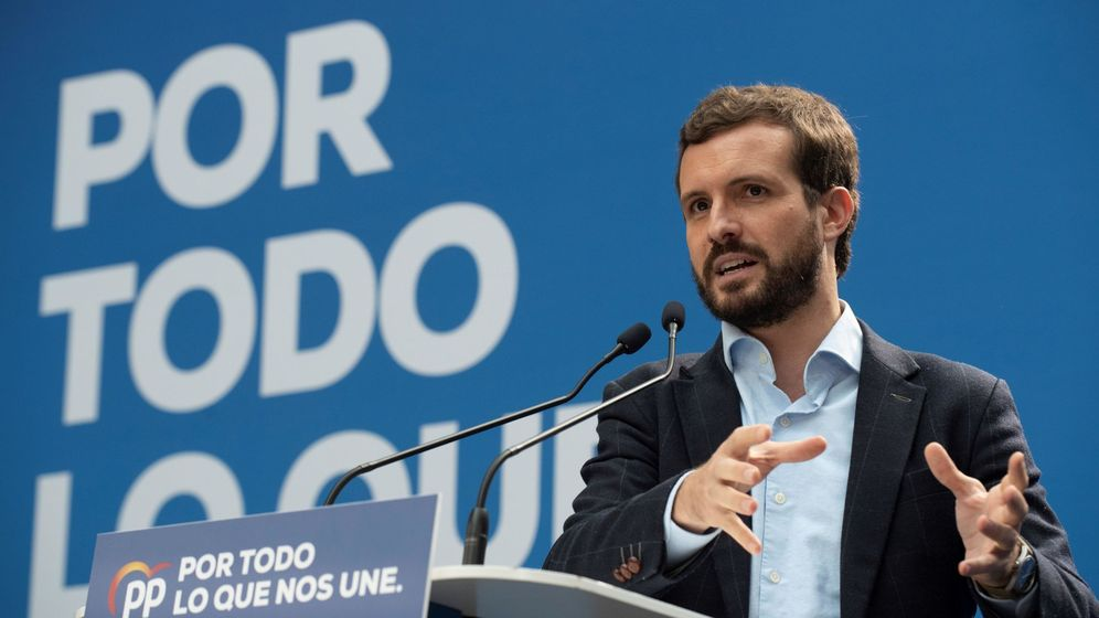 Foto: El candidato a la presidencia del Gobierno por parte del Partido Popular, Pablo Casado. (EFE)