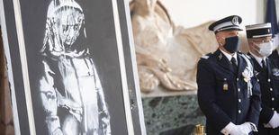 Post de Italia devuelve a Francia la obra robada de Banksy en homenaje al atentado en Bataclan
