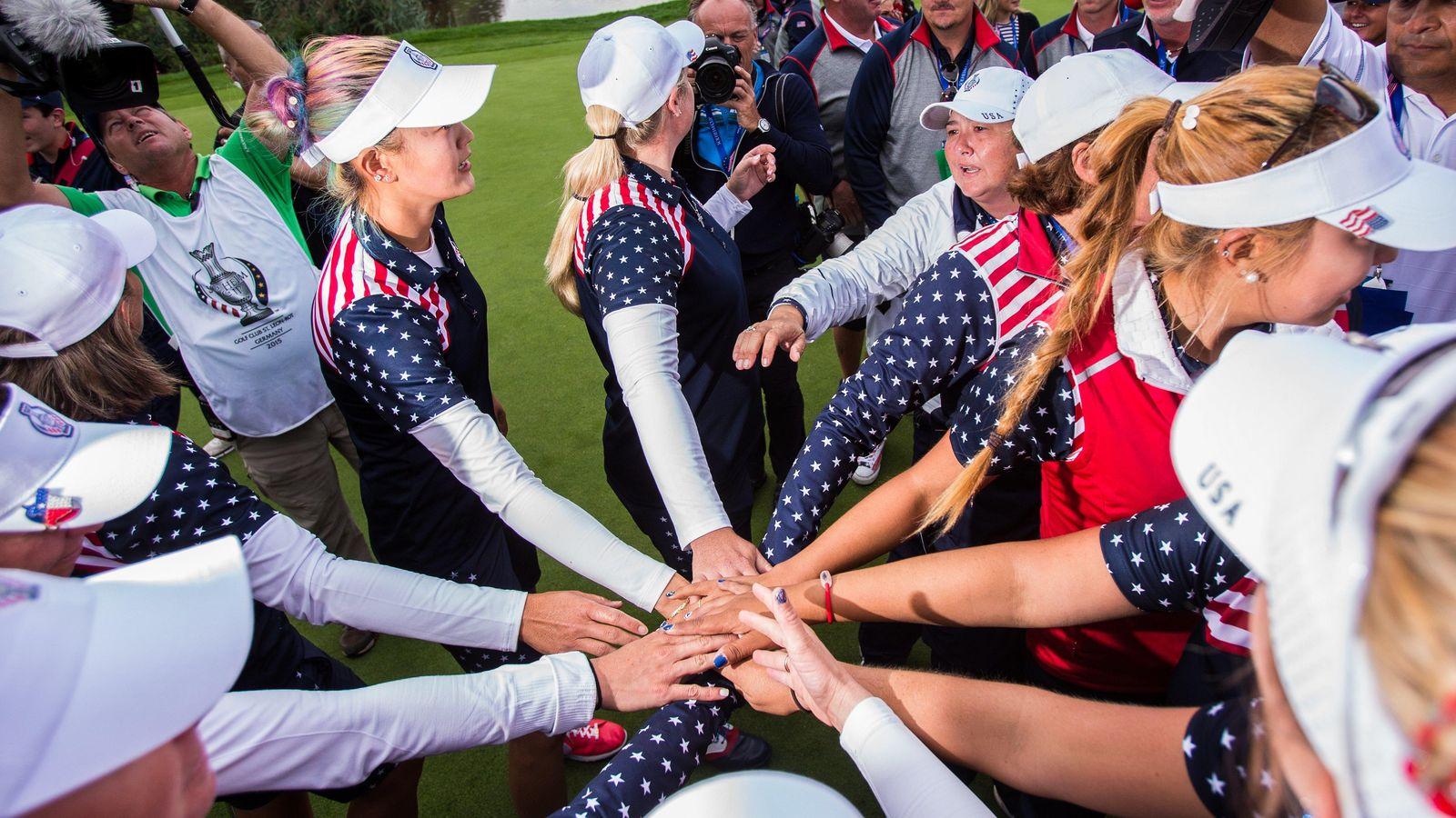 Foto: Estados Unidos consiguió una increíble victoria en la Soldheim Cup (FOTO: SoldheimCup).