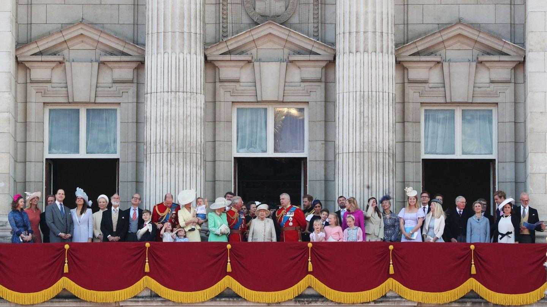 Lady Gabriella Windsor y Thomas Kingston, a la izquierda de la imagen. (Reuters)