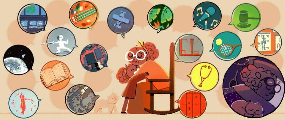 Foto: El 'doodle' del Día Internacional de la Mujer homenajea a 13 mujeres