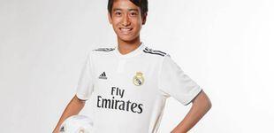 Post de 'Pipi' Nakai, el nuevo diamante del Madrid que comparte agente con Bale