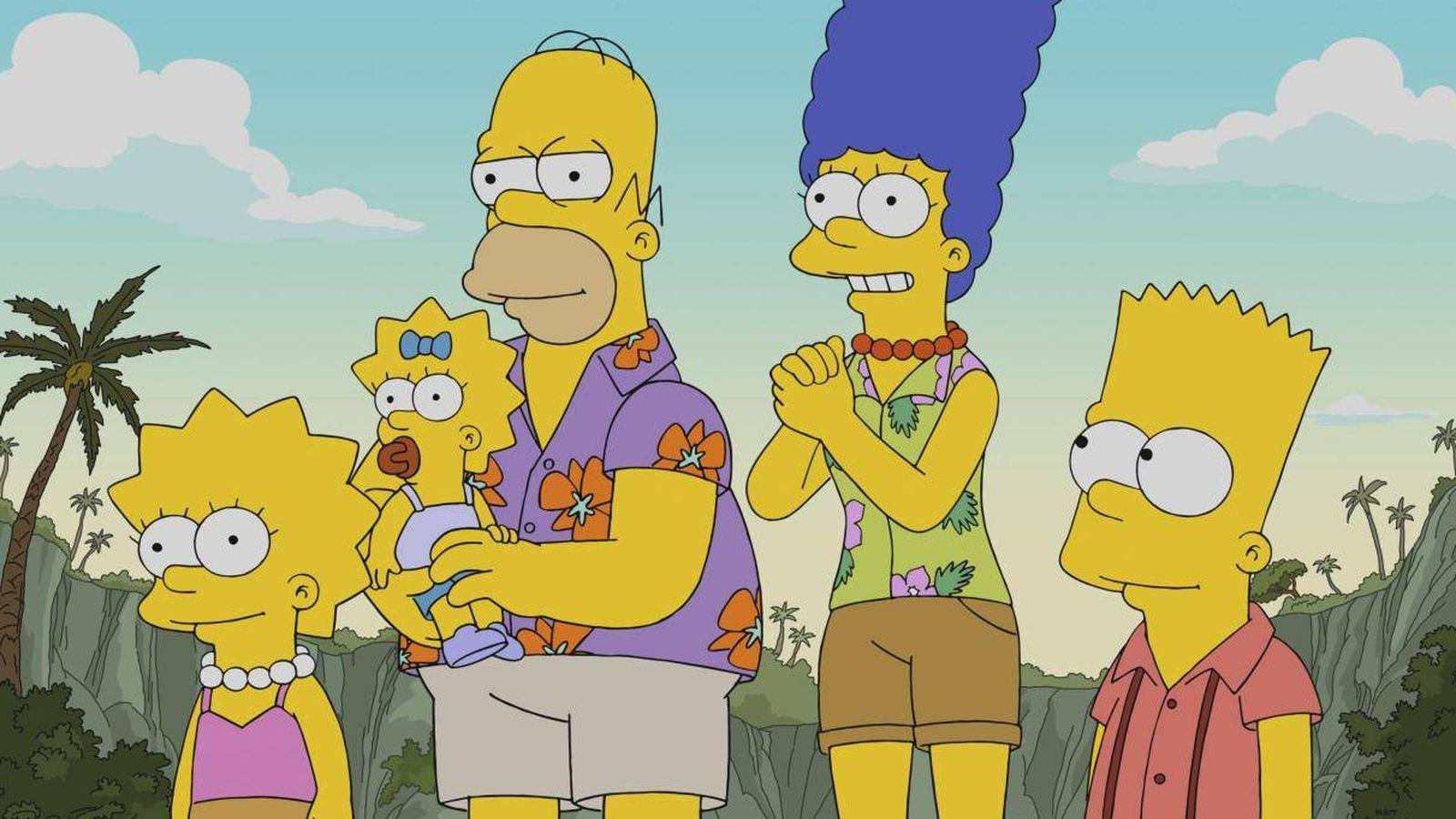 Foto: La familia Simpson. (Fox)