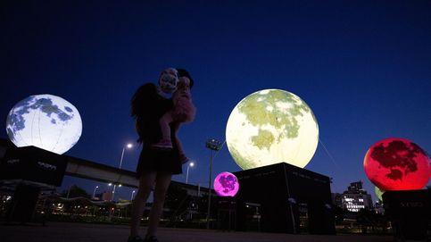 Lunas llenas artificiales en Seúl