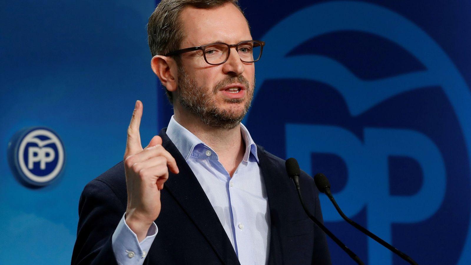 Foto: El vicesecretario de Sectorial del PP, Javier Maroto. (EFE)