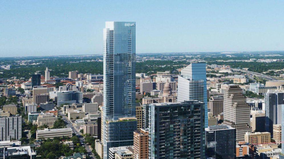 Foto: Torre de BBVA Compass en Austin (Texas).