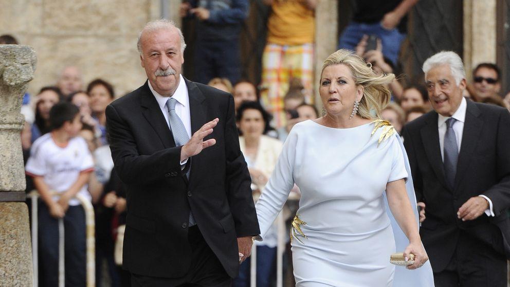 Vicente del Bosque, la verdadera estrella de la 'boda Iberdrola'