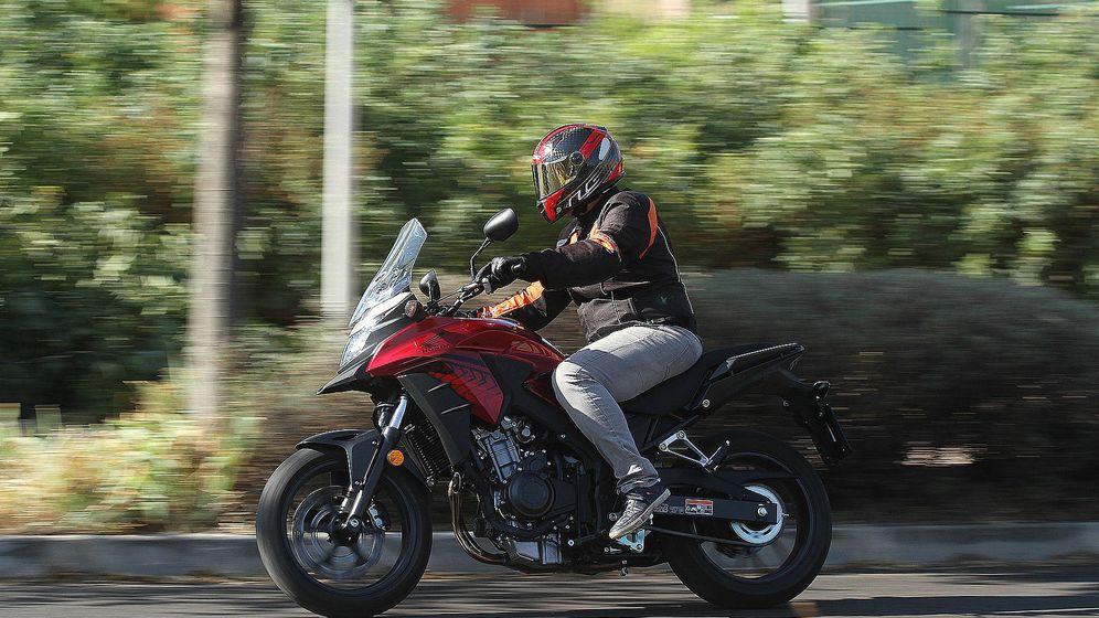 Foto: Honda CB500X, ideal para el día a día