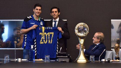 Telefónica agasaja al Movistar Inter, campeón de Europa de fútbol sala