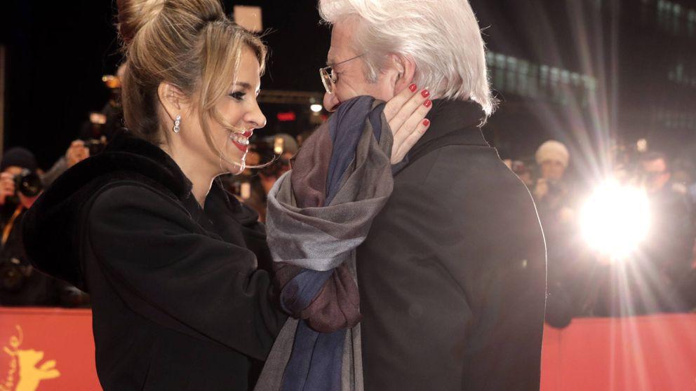 Los mimos de Alejandra Silva y Richard Gere en la alfombra roja de la Berlinale