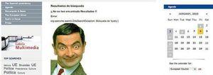 Foto: Zapatero y Mr. Bean causan el hazmerreír de la prensa internacional
