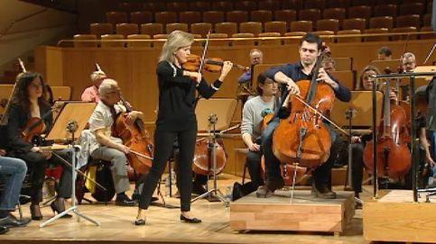 Duelo de violín y chelo Stradivarius en el Auditorio Nacional de Madrid