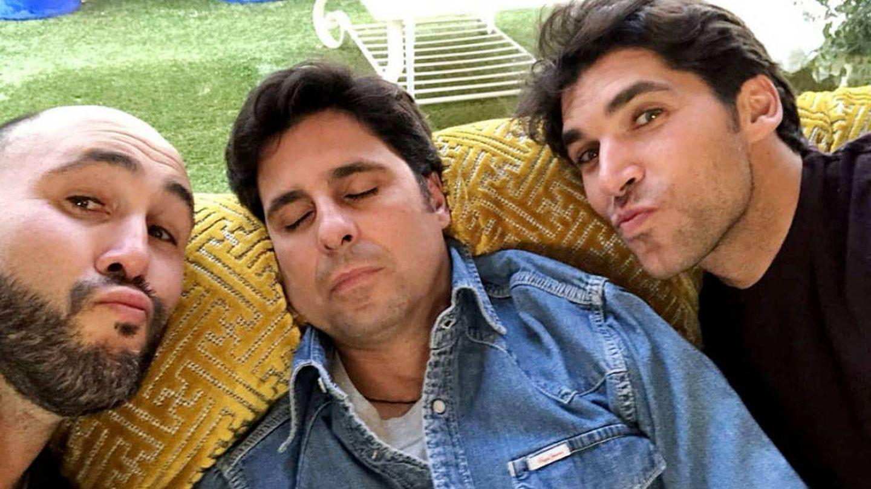 Los hermanos Rivera (Kiko, Fran y Cayetano) en una imagen de Instagram.