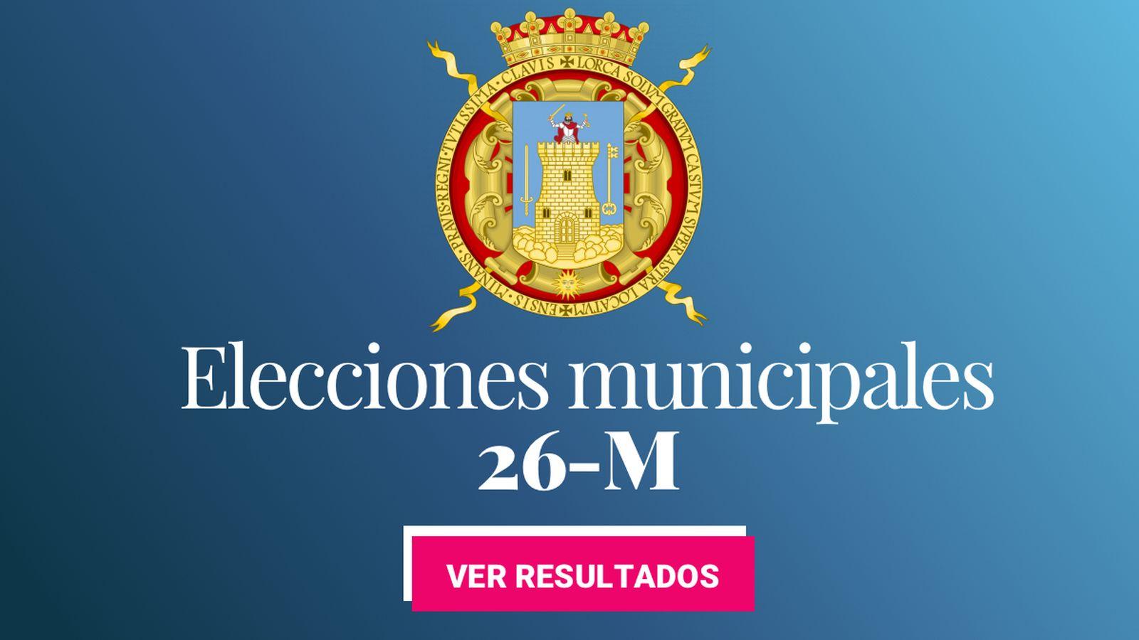 Foto: Elecciones municipales 2019 en Lorca. (C.C./EC)