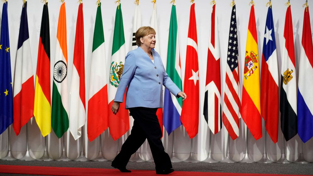 Foto: Angela Merkel en el g20 en Japón. (Reuters)