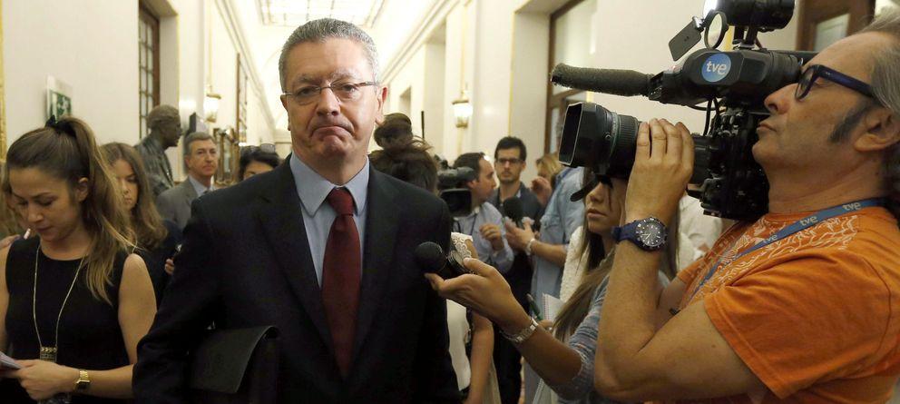Foto: El ministro de Justicia, Alberto Ruiz-Gallardón (EFE).