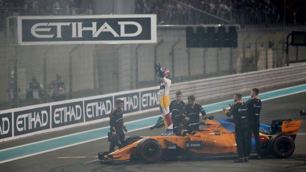 Foto: Así es la última carrera de Fernando Alonso en la Fórmula 1