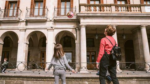 Apaños, flexibilidad y abuelos en el primer día sin cole en Vitoria por el coronavirus