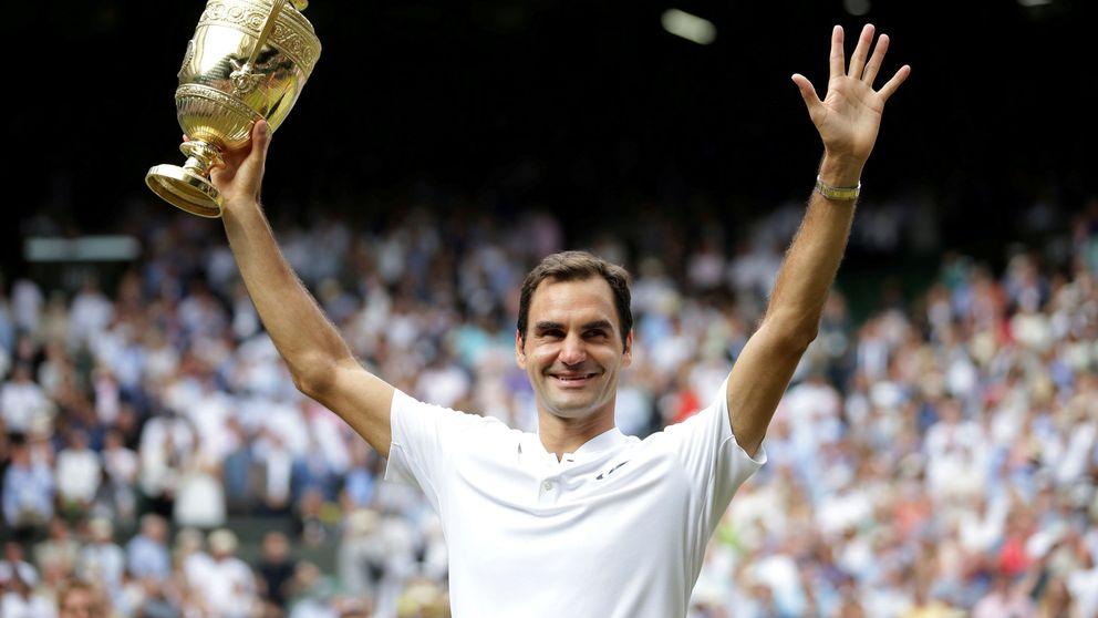 La lección de paternidad de Roger Federer