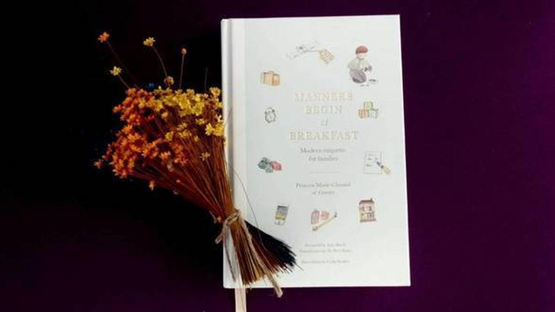 El libro de Marie-Chantal de Grecia. (Foto:  J.D.)