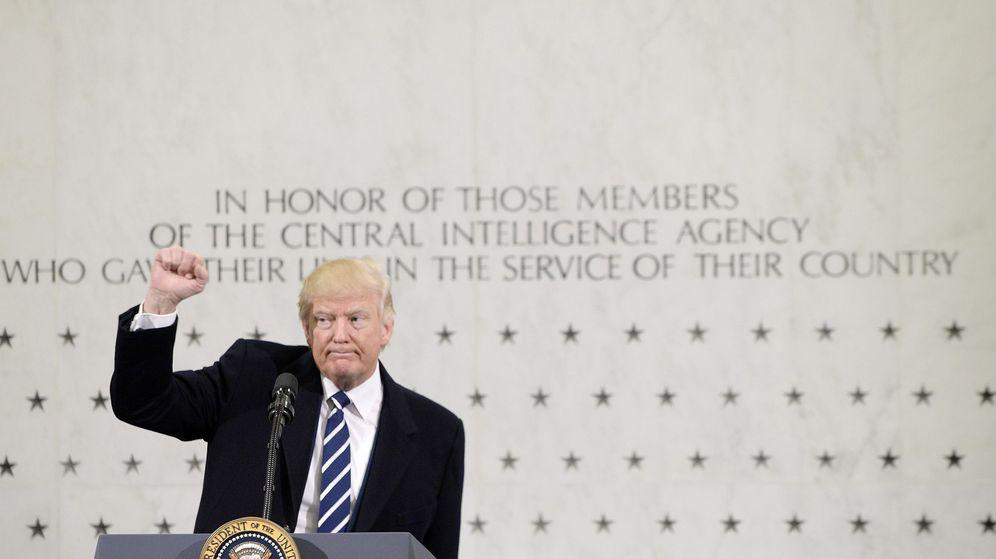 Foto: Donald Trump fue investido presidente el pasado viernes (Olivier Douliery/EFE-EPA)
